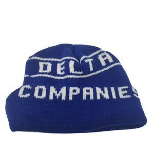 Delta Companies Winter Beanie Hat Royal One Size